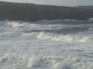 Abereiddy Storm Pembrokeshire UK