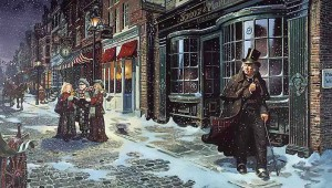 Dickens Christmas Carol image